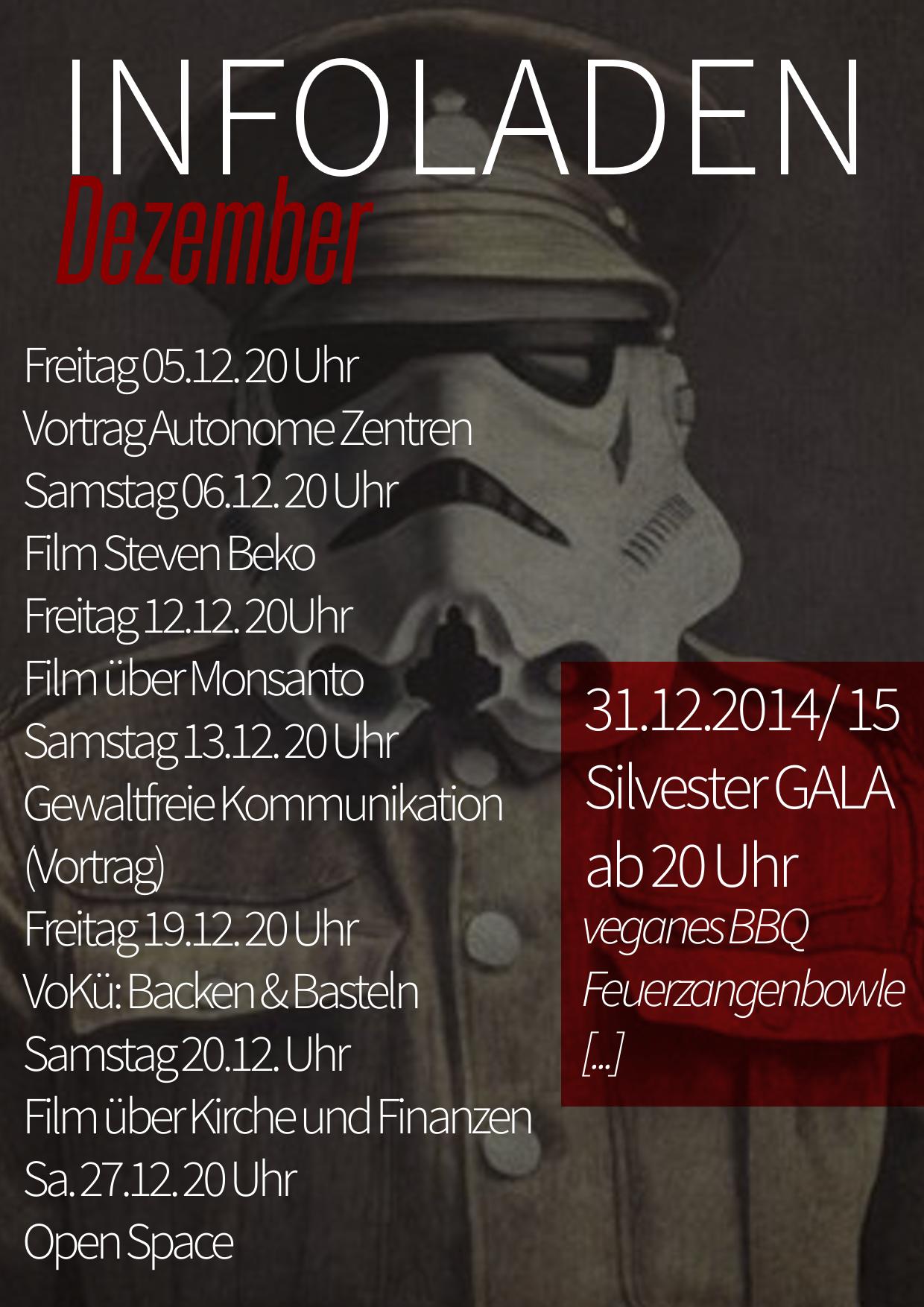 Programm für den Dezember