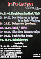 Programm für den Januar