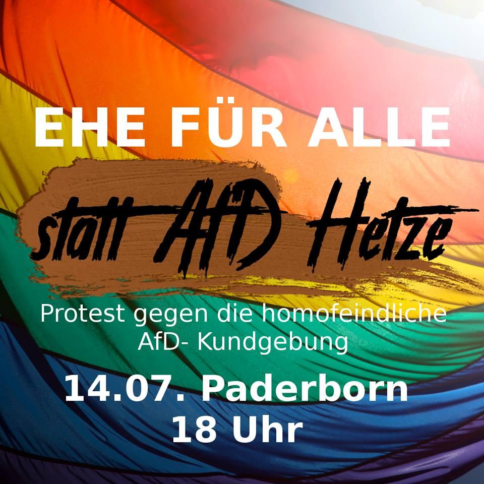 14.7. _ Demo gegen die AFD-Kundgebung