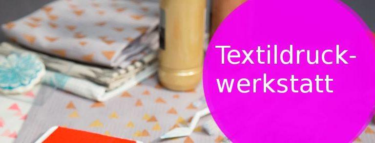 Liboriprogramm: Textildruckwerkstatt