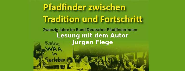 Pfadfinder zwischen Tradition und Fortschritt – Lesung mit Jürgen Fiege
